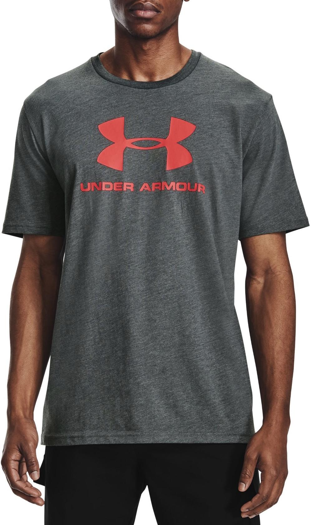 Camiseta Under Armour UA SPORTSTYLE LOGO SS-GRY