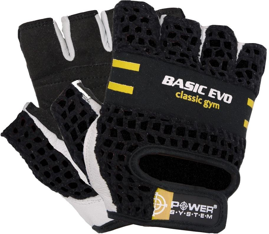 Guantes Power System POWER SYSTEM-GLOVES BASIC EVO- YELLOW