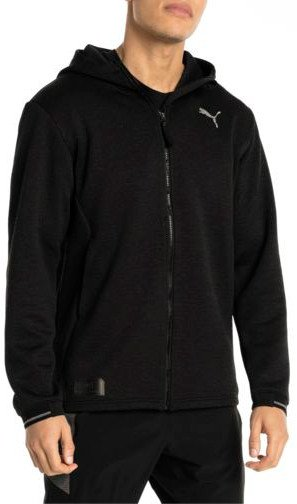 Chaqueta con capucha Puma N.R.G. Fullzip Jacket Black Heather